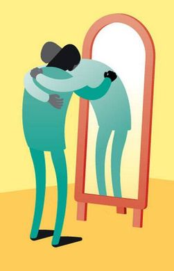 mirror image love self